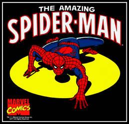 1970's Marvel Comics Spider-man Poster