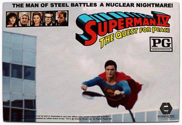 1987 Superman IV Lobby-Card Poster by jayce76