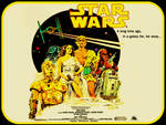 Classic Star Wars Poster Wallpaper by jayce76