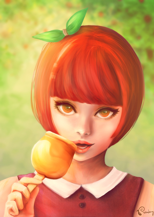A for Apple by rainnberry