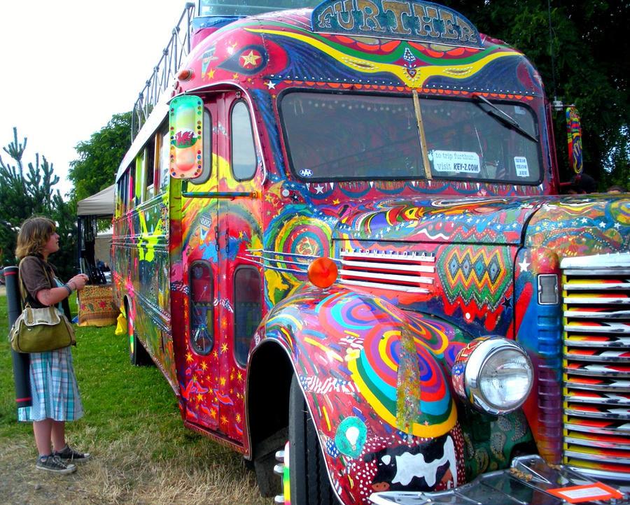 The Merry Pranksters' Bus by HiddenStash