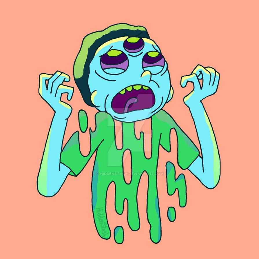 Meltdown Morty by HiddenStash
