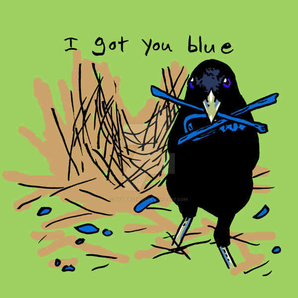I Got You Blue by HiddenStash