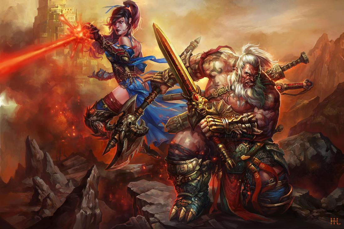 barbarian by hualu