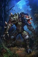 wolfman by hualu