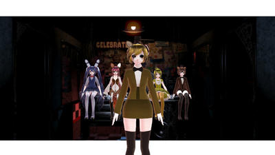 MMD Five Nights at Freddy's 1 by Deathbringerr1