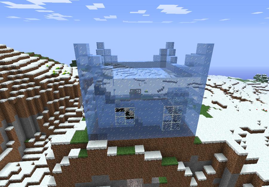 Winter Craft  Mine Build Game