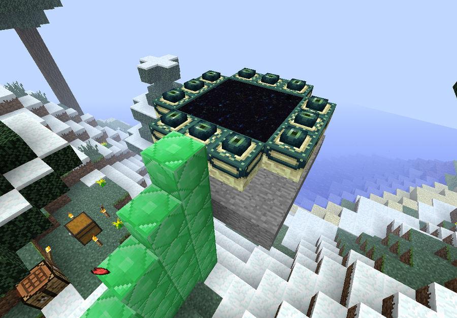 Minecraft: Custom End portal 2 by Brawl629 on DeviantArt