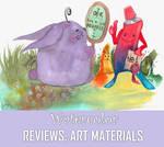WATERCOLOR: REVIEWS - ART MATERIALS by TokyoMoonlight