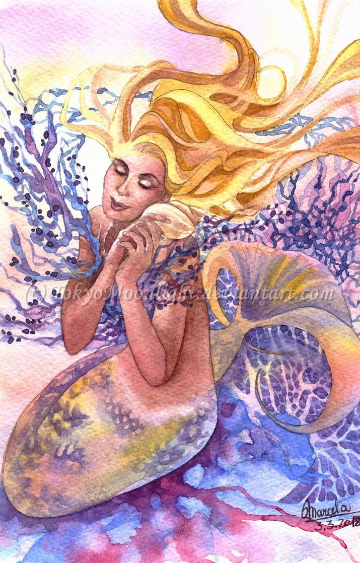 Mermaid's Lullaby by TokyoMoonlight