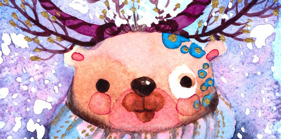 HERO - Jingle Bear header by TokyoMoonlight