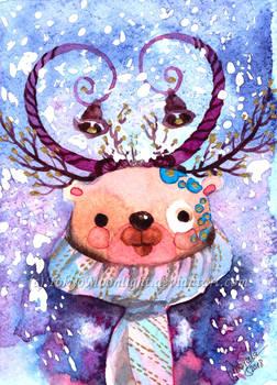 Holiday Card - Jingle Bear
