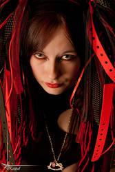cybergoth headshot by Arielle-Fox