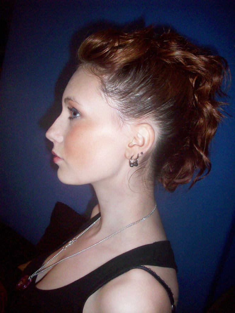Hairstyle For Fashion Show By Arielle Fox On Deviantart