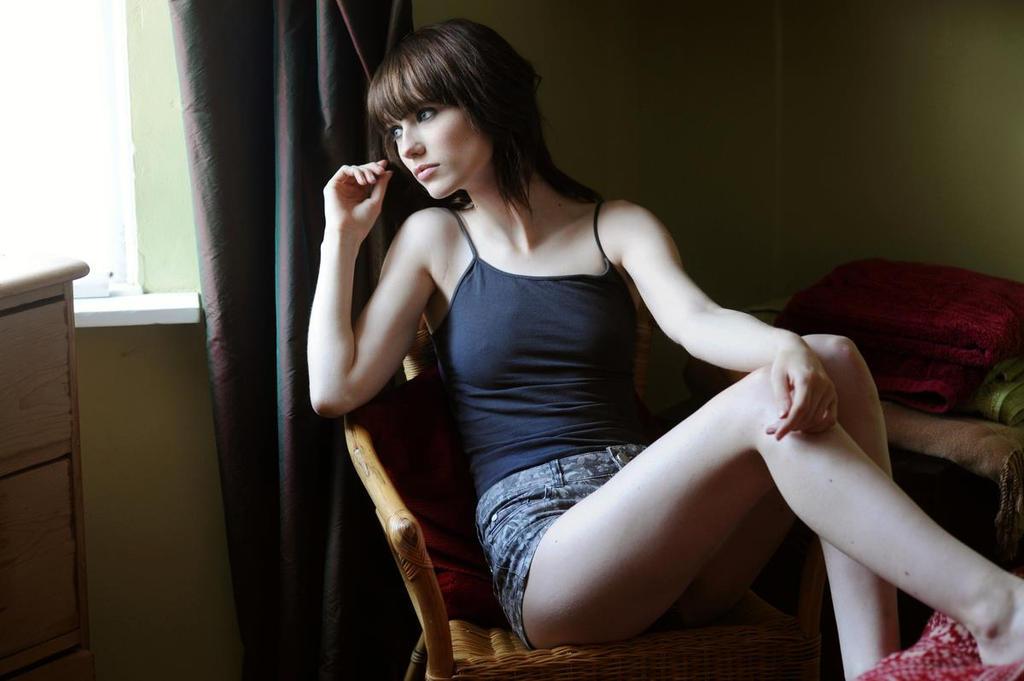Window watching by Arielle-Fox