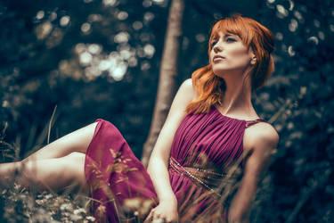 summer blues by Arielle-Fox