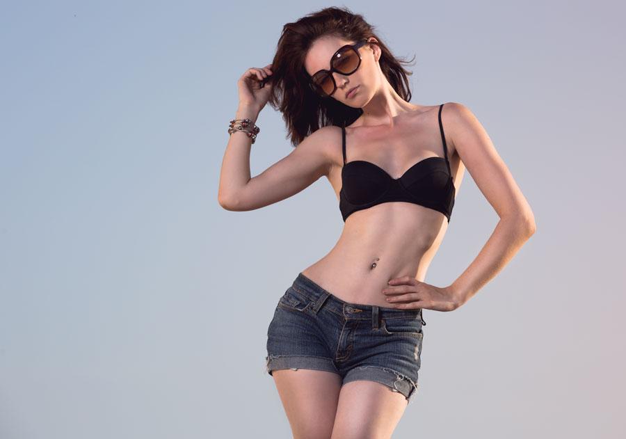 beach girl by Arielle-Fox