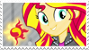 Sunset Shimmer Stamp [RR] by Tambelon