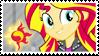 Sunset Shimmer Stamp [RR] by Tambelon