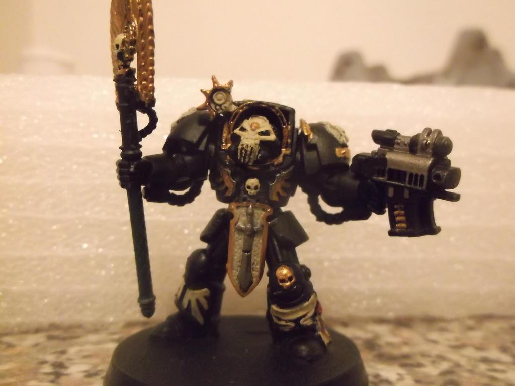 Space Marine Terminator Chaplain by einsUNDcolt