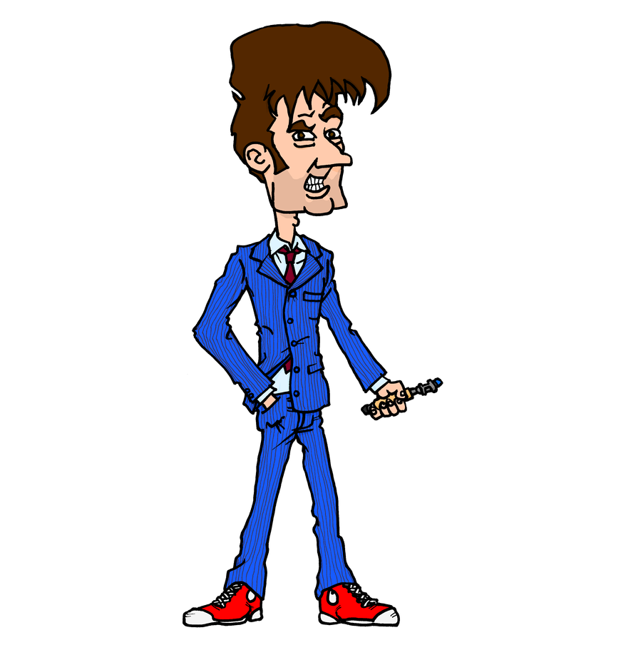 10th Doctor (Blue Suit version) by tard15