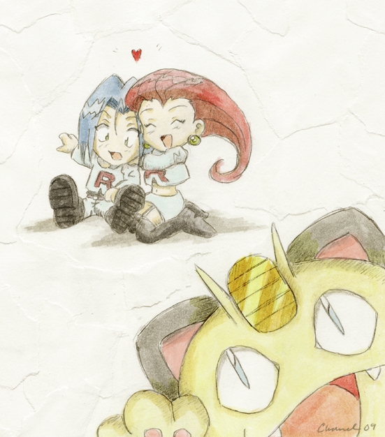 Chibi Hug by Chamel413