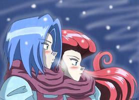 Winter-Team Rocket by Chamel413