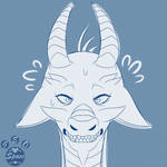 Commission | Headshot Sketch by Geo-Space