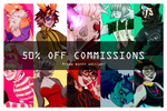 [ CLOSED | PRIDE MONTH COMMISSION | 50% OFF ]