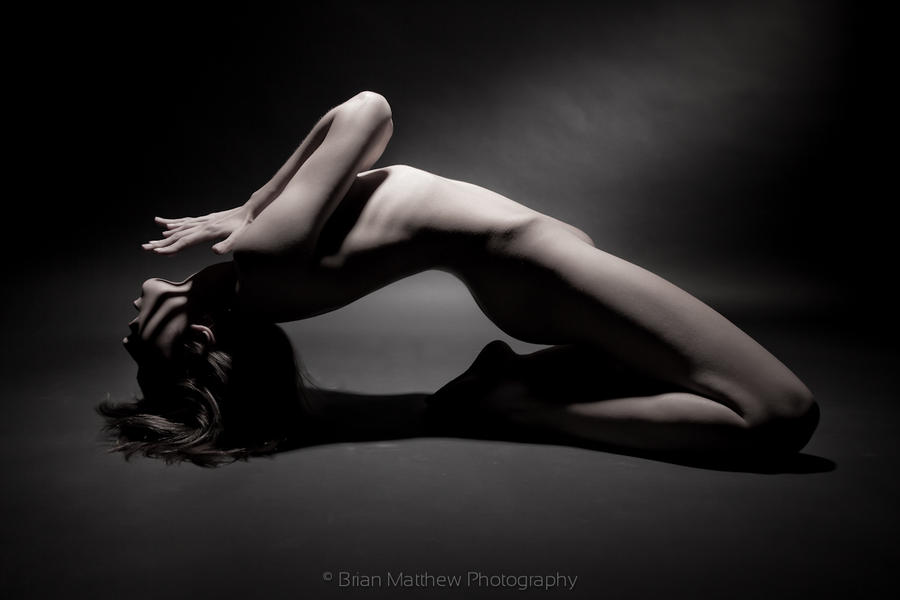 Artistic Nude Bend by BrianMPhotography