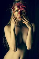 Mask, Implied Nude