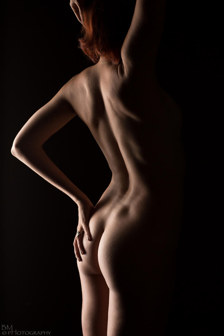 Nude Back by BrianMPhotography