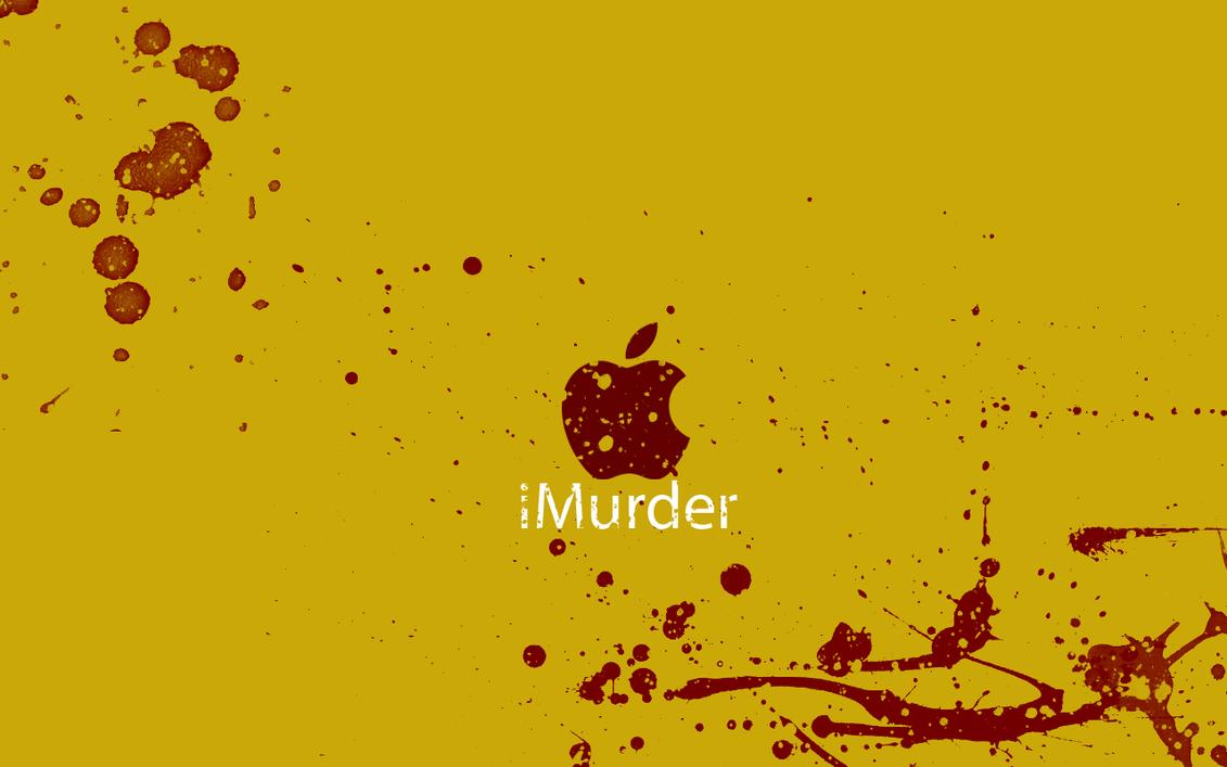 iMurder Wallpaper by JurjenSleebos