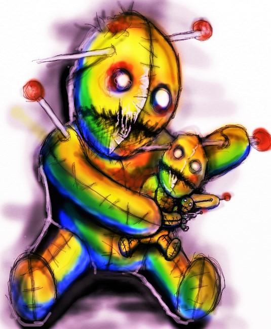 Voodoo trip by 666afx