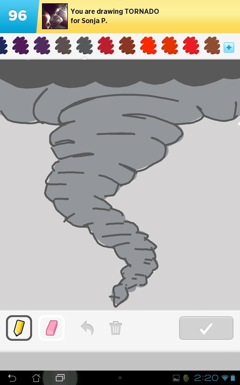 Draw Something: Tornado by Vie242 on DeviantArt