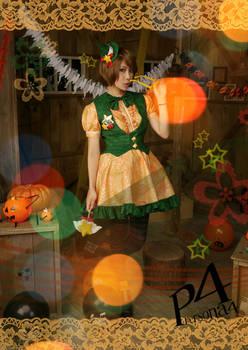 Persona4 the Golden- Chie Satonaka (Halloween ver)