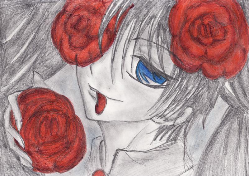 Mis Dibujos! =3  //voy progresando de a poquito// - Página 2 Petals_by_Tomo_poo