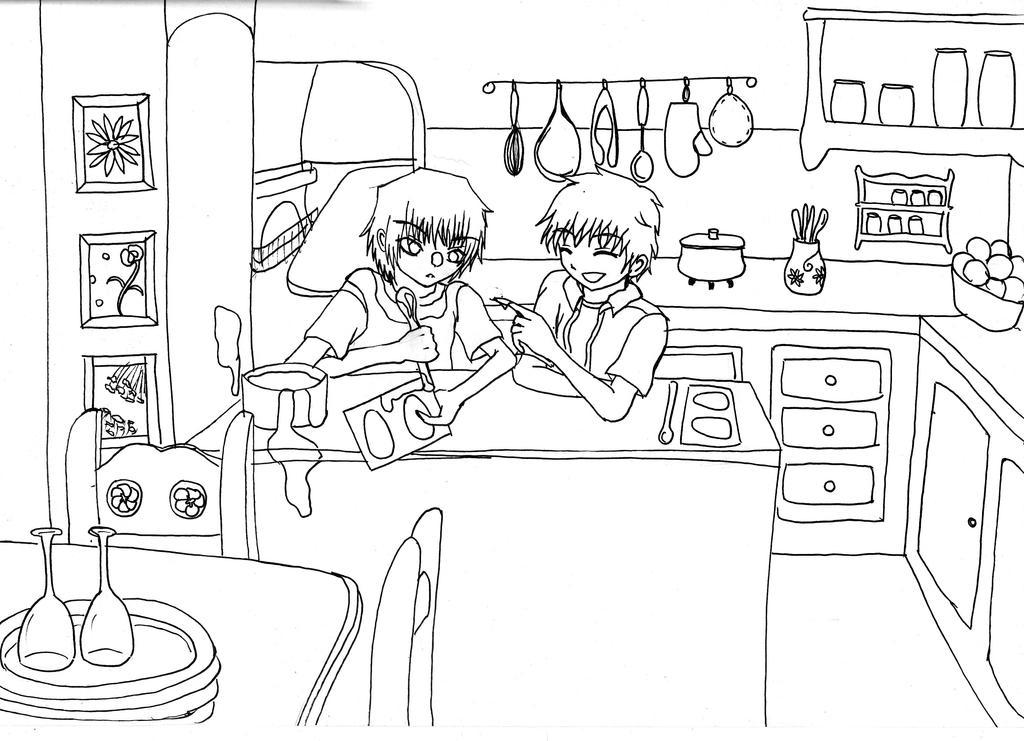 Mis Dibujos! =3  //voy progresando de a poquito// - Página 3 Happy_Easter___Lineart_by_Tomo_poo