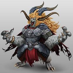 Xerr, king of Beasts