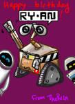 WALL-E Birthday card
