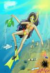 Snorkeling bliss