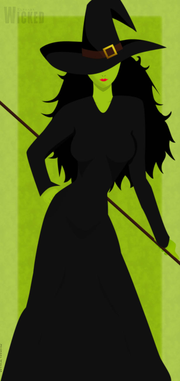 Wicked - Elphaba by Lordrea on DeviantArt