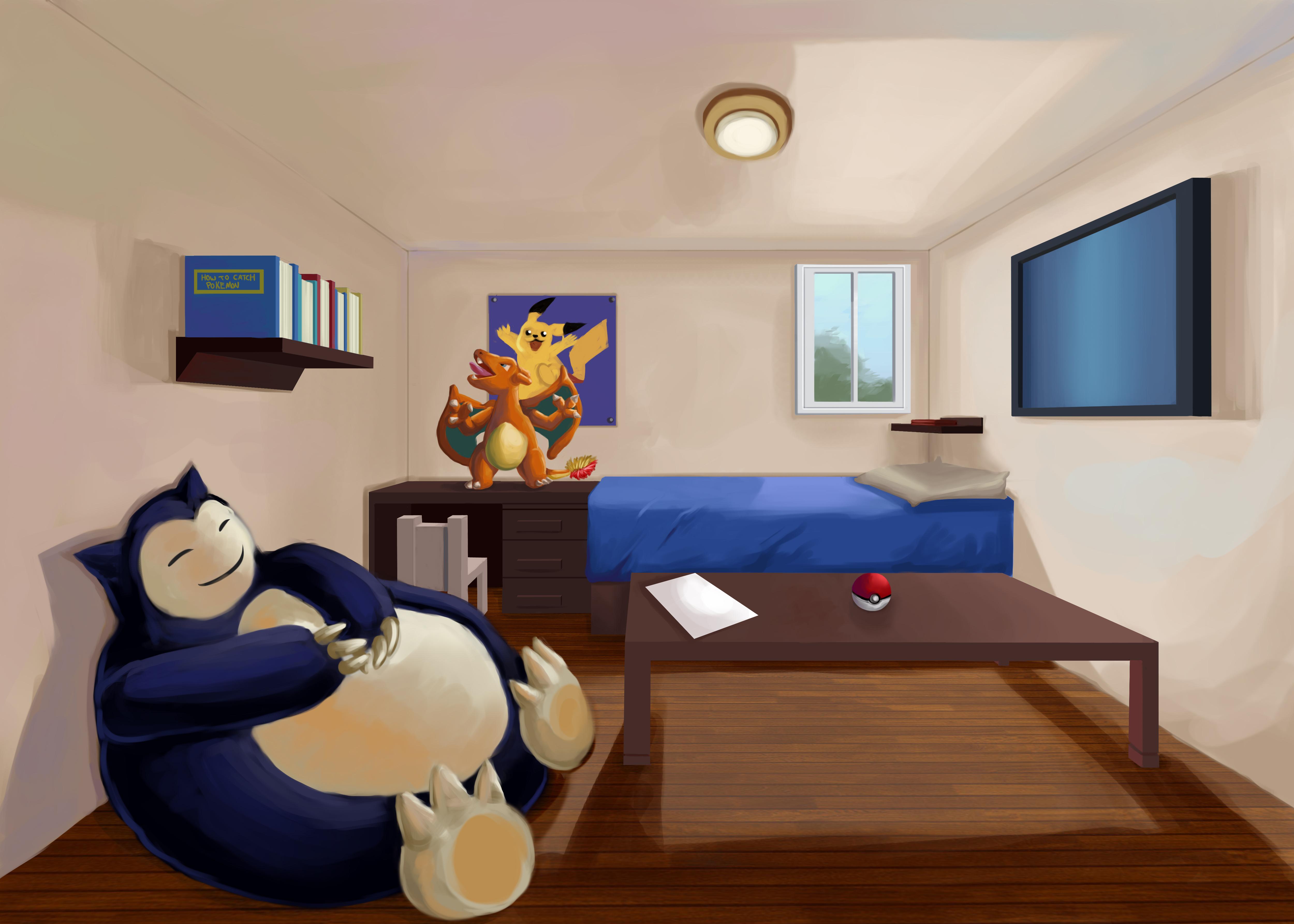 Pokemon Bedroom Wallpaper Pokemon Room By Timothywilson On Deviantart