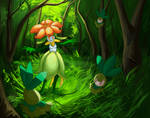 lilligant blooms by TimothyWilson