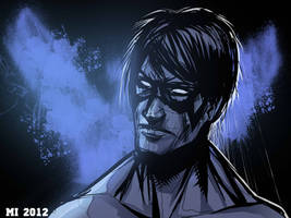 Nightwing Sketch by crow110696