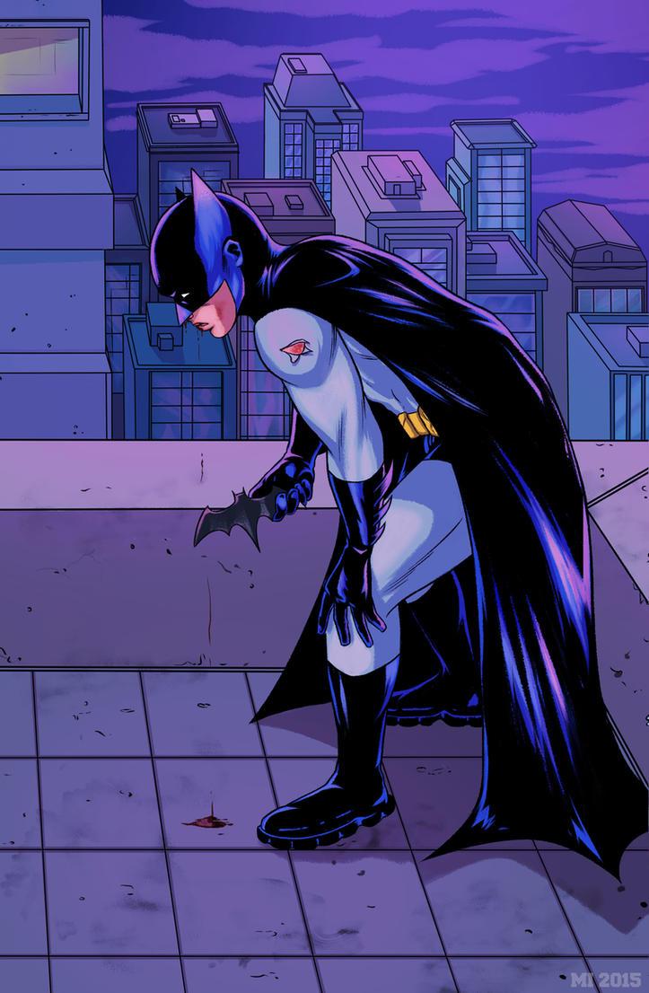 Beaten Batman by crow110696