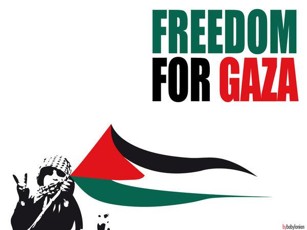 Freedom for Gaza by babylonien
