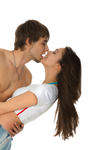 Couple Kissing Stock Png