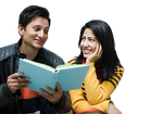 Couple Reading png