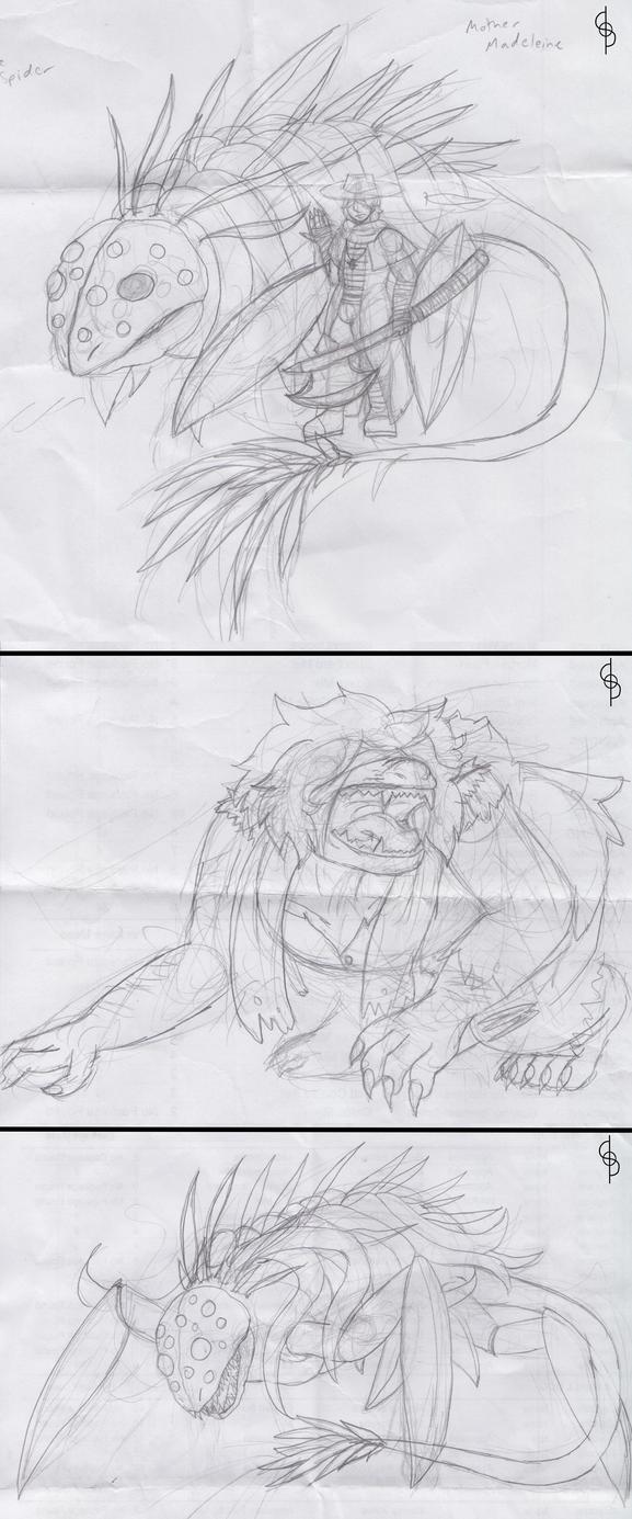 Bloodborne Doodles by Flareblade2000